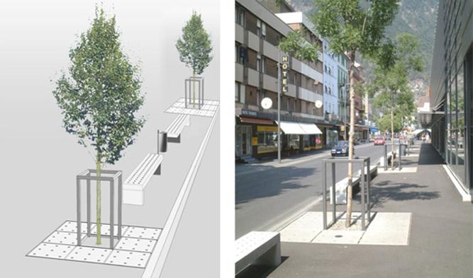Verkehrs- und Gestaltungskonzept 'Crossbow' Bödeli
