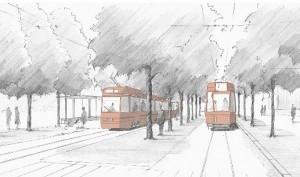 Tram Bern West